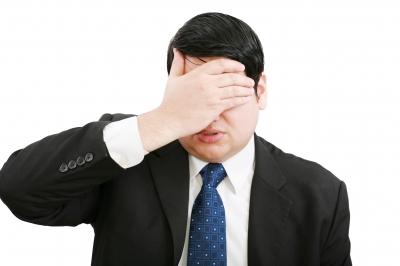 Streesed-businessman